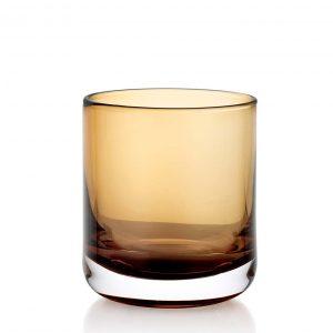 Lounge Bar Amber 200ml Glass Set of 6