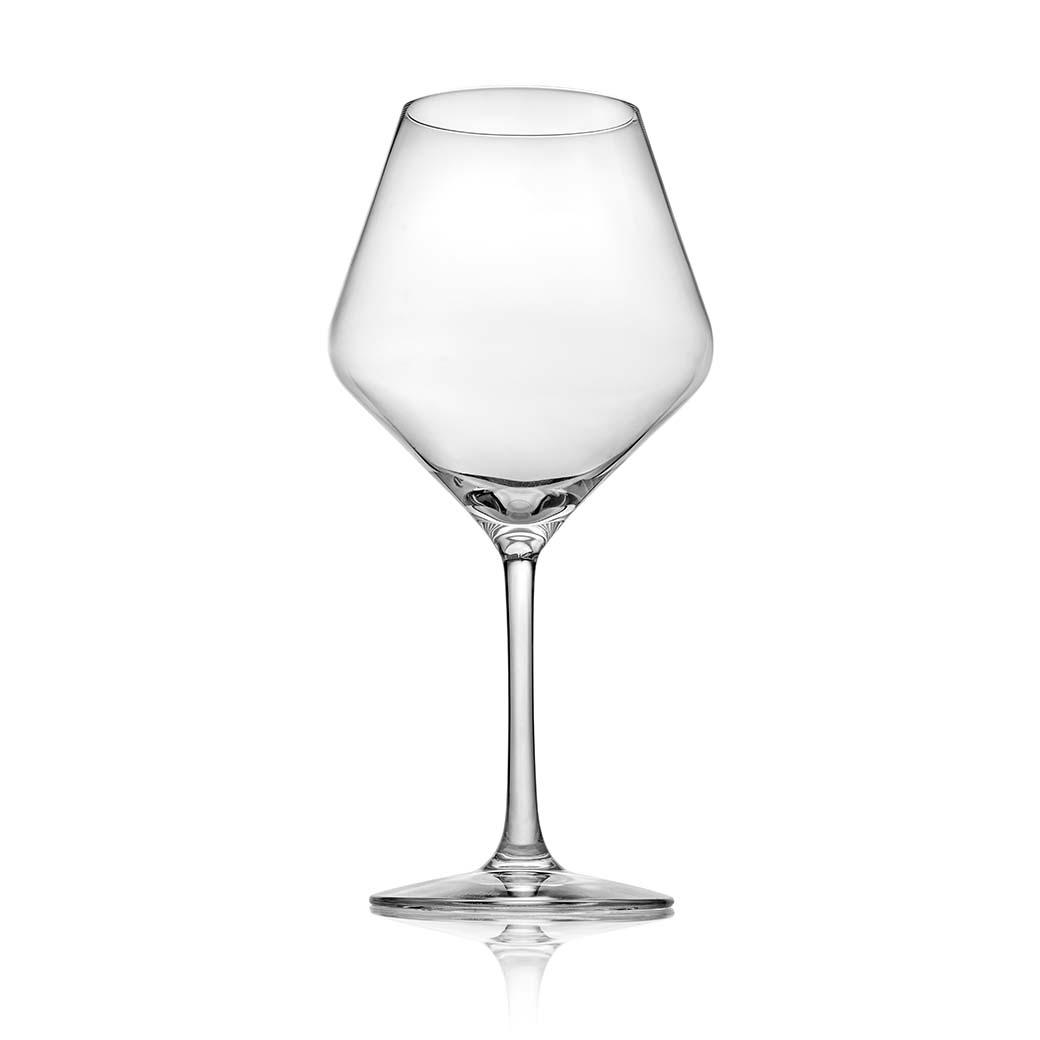 noritake italian glassware ivv tasting hour red wine glass set of 2