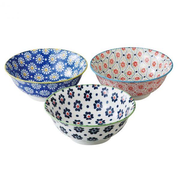 Goshiki 21cm Bowl Set of 3