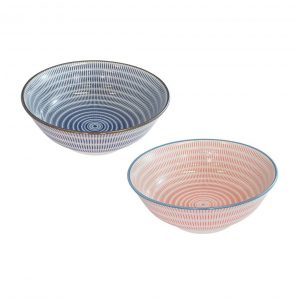 Oka 19.5cm Bowl Set of 2