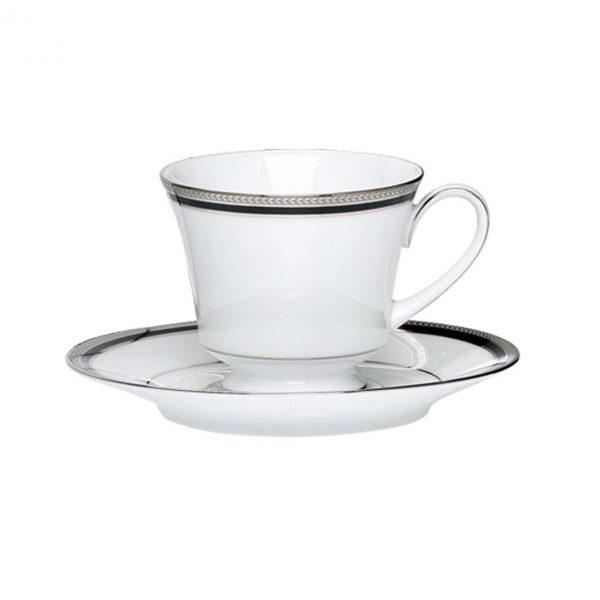 Toorak Noir Tea Cup & Saucer Set
