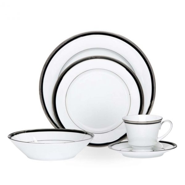 Toorak Noir 20pce Dinner Set