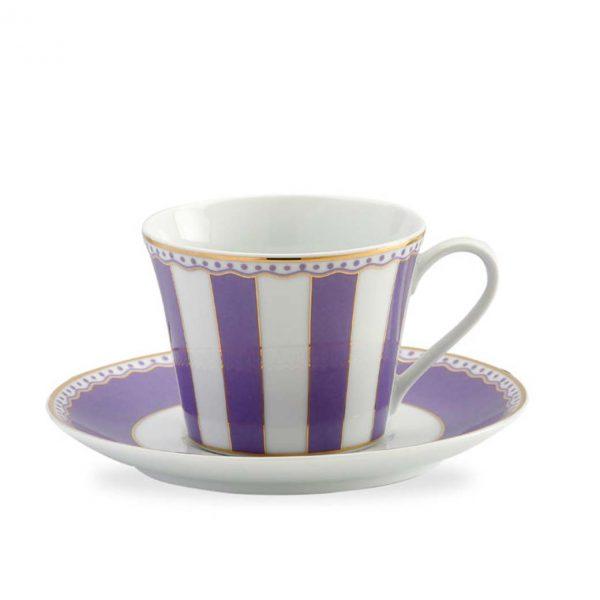 Carnivale Lavender Cup & Saucer Set