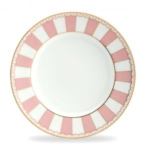 Carnivale Pink Cake Plate Set of 2