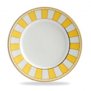 Carnivale Yellow Cake Plate Set of 2