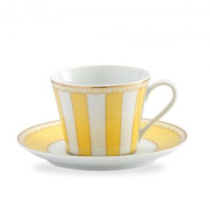 Carnivale Yellow Cup & Saucer Set