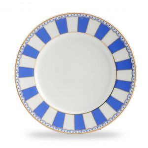 Carnivale Dark Blue Cake Plate Set of 2