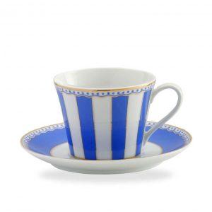 Carnivale Dark Blue Cup & Saucer Set