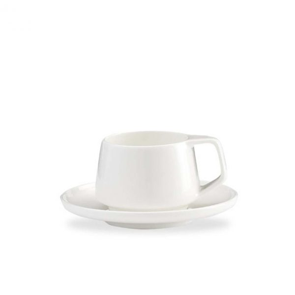 Marc Newson by Noritake Espresso Cup and Saucer Set for 2