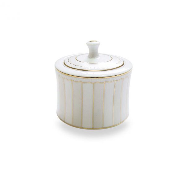 Carnivale Sugar Bowl with Cover