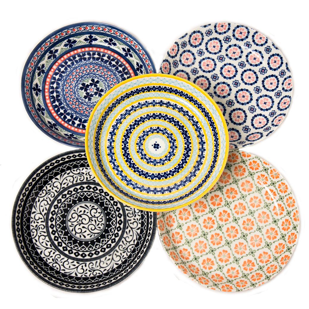 Ayaka 22cm Deep Plate Set of 5  sc 1 st  Noritake & Pottery Field 22cm Deep Plate Set of 5