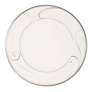 Platinum Wave 22cm Plate Set (Giftboxed)
