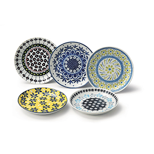 Hana 15.5cm Plate Set of 5