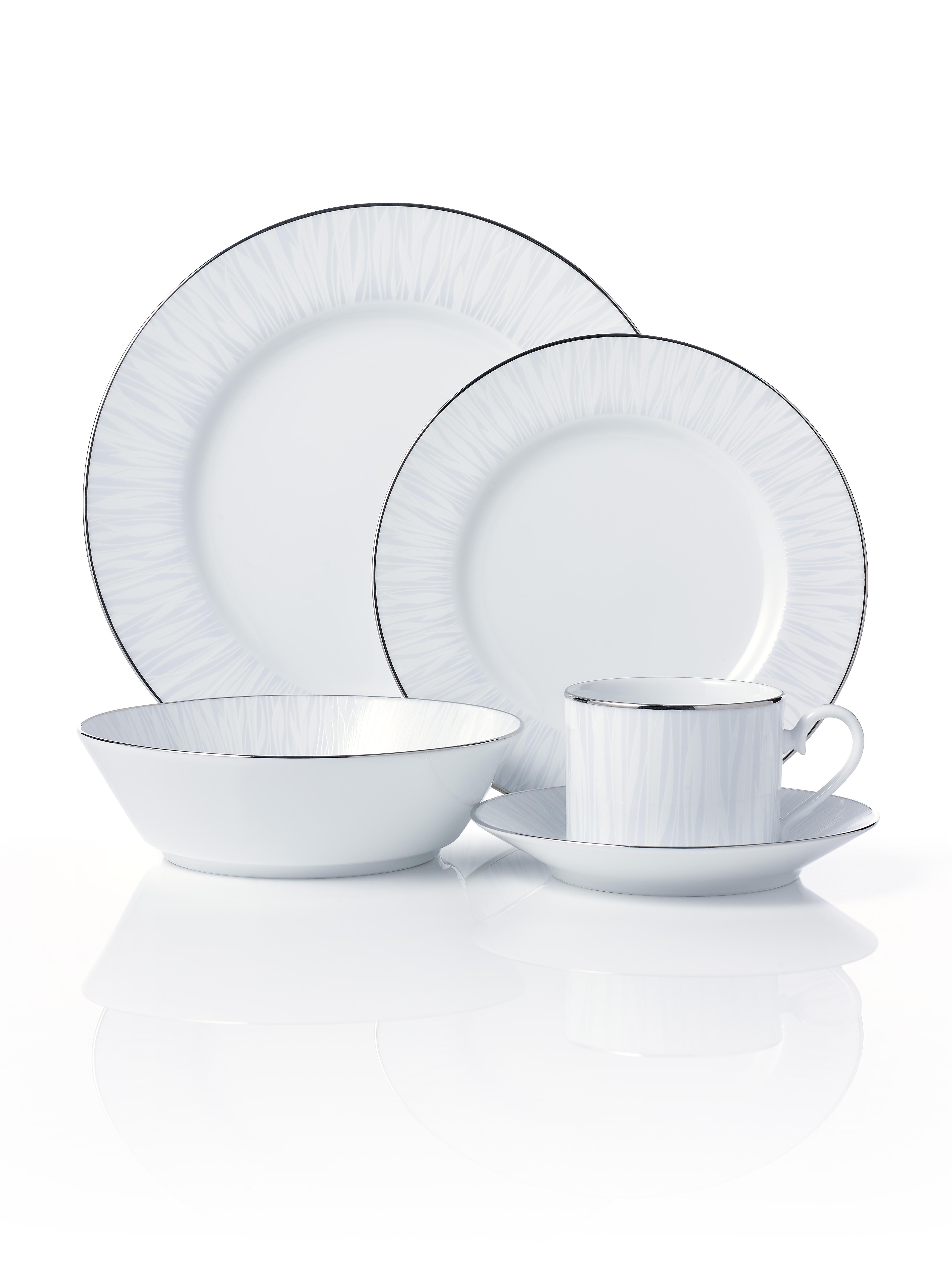 Glacier ...  sc 1 st  Noritake & Glacier Platinum 20pce Dinner Set - Noritake Australia Pty Ltd