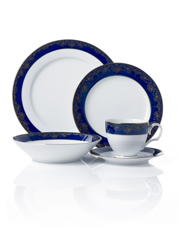 Lazurite Gold 20pce Dinner Set