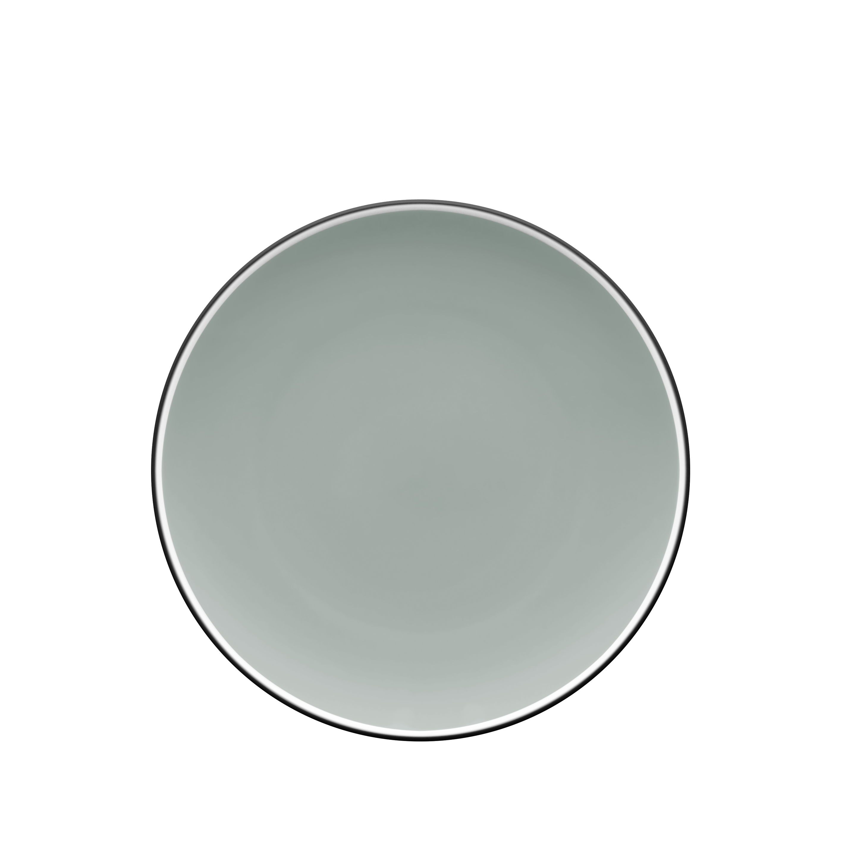 Colortrio Graphite Coupe Salad Plate Set of 4