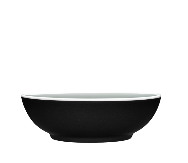 Colortrio Graphite Coupe Cereal Bowl Set of 4