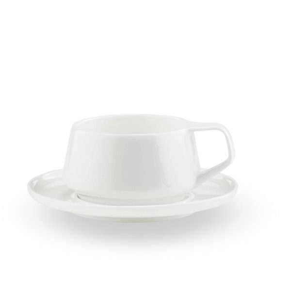 Marc Newson by Noritake Tea Cup & Saucer (No GiftBox)
