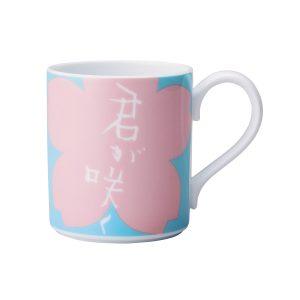 Sisyu by Noritake Pink & Blue Mug